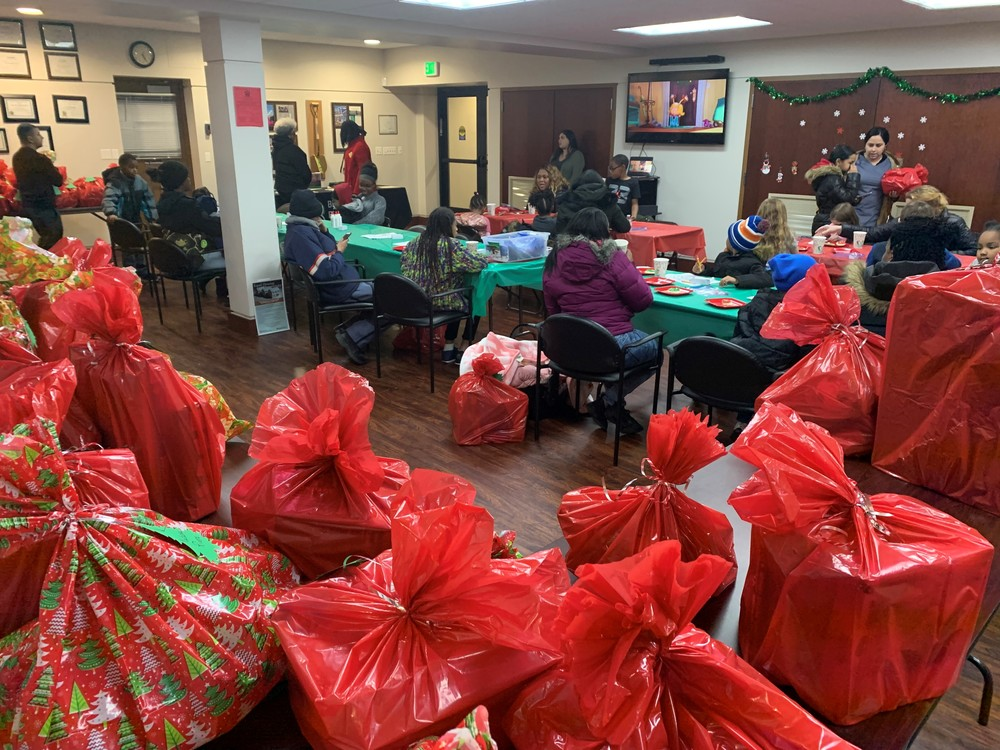 Toys for Tots 2019 Meeting with Toy Bags